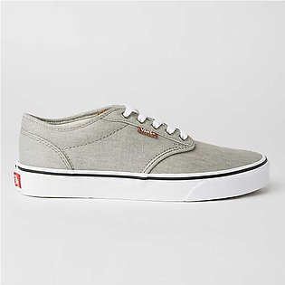 Vans Unisex Atwood Sneakers (Enzyme Wash) Drizzle/Wht