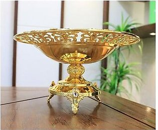 18kt Gold Plated Dry Fruit Tray