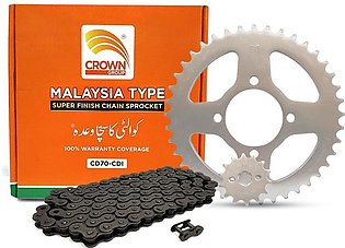 Chain Kit Malaysia Type- For All 70cc Bikes