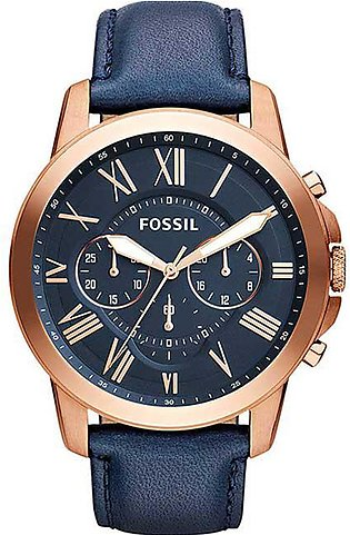 Fossil Men Water Resistant Chronograph Watch FS4835