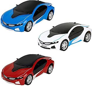 RC BMW 3D Famous Car with Led Lights Battery Operated