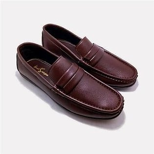 Footscape's Handmade Brown Loafers for Men FS4444