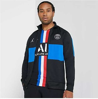 Nike PSG Academy Track Jacket Black/Blue for Men