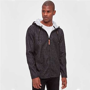 Trendyol Waterproof Zippered Pockets Hoodie Anthracite for Men