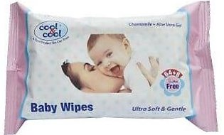 Cool & Cool Baby Wipes Ultra Soft