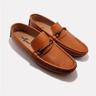 Footscape's Handmade Tan Loafers For Men FS2520