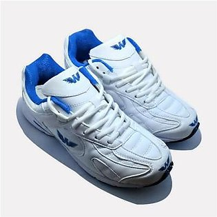 Footscape's Liberty White Trainers For Men FS0006