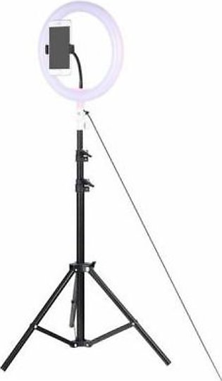 Photo Mobile Video Fill Light Ring 36CM and 160CM Light Stand