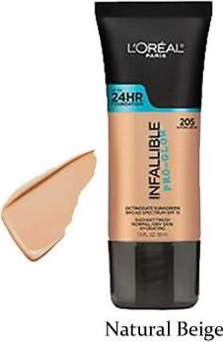 L'OREAL Infallible Pro Glow Natural Beige
