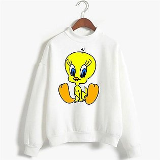 Tweety Printed Sweatshirt By R&H