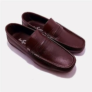 Footscape's Handmade Brown Moccasins for Men FS4188