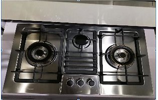Dancare 255 3-Burners Hob With Official Warranty