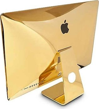 """Apple iMac, MMQA2 2.3GHz Core i5, 8GB RAM 1TB SSD 21.5"""" 24kt Gold Plated With C…"""