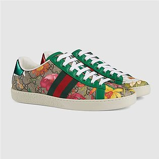 Gucci Women's Online Exclusive Ace GG Flora Print Sneaker