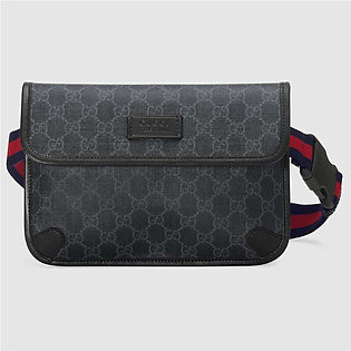 Gucci Black/Grey Belt Bag