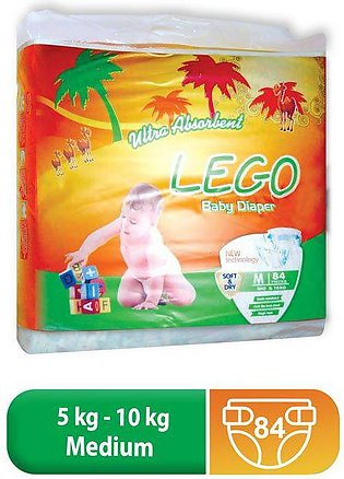 LEGO MEGA PACK MEDIUM DIAPERS (84 PCS)