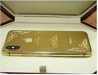 Apple iPhone XS Max 256GB 24kt Gold Plated (With Authentication Certificate)