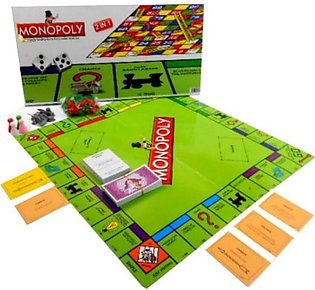 Monopoly with Snakes & Ladders 2 in 1 Board Game