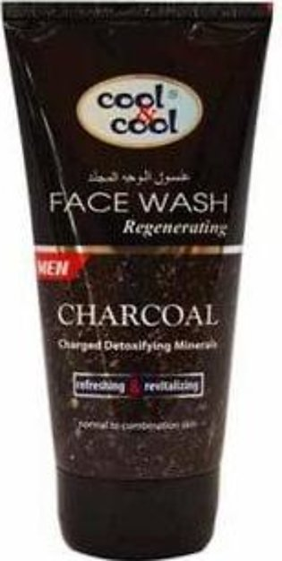 Cool & Cool Regnerating Face Wash for Men 150ml