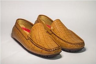 Footscape's Imported Tan Loafers for Men FS158