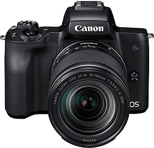 Canon EOS M50 with EF-M 18-150mm Lens