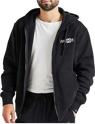 Nike Just Do It Hooded Jacket Black for Men