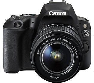 Canon EOS 200D DSLR Camera With 18-55mm Lens With Warranty