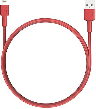 Aukey CB-BAL2 MFi USB-A to Lightning Cable (6.6ft) With Official Warranty