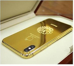 Apple iPhone XS 256GB 24kt Gold Plated (With Authentication Certificate)