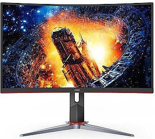 AOC C24G2 24-Inch Curved Frameless Gaming Monitor