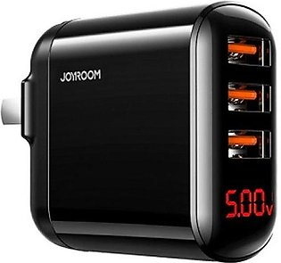 Joyroom HKL-USB59 3 Port 3.4 Amp Wall Charger with Official Warranty