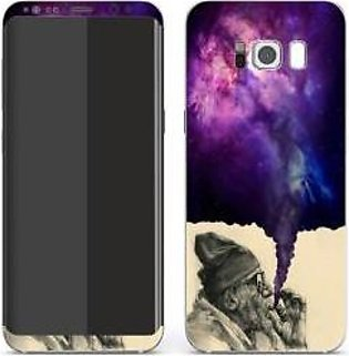 Color Smoke Skin For Mobile Samsung S8