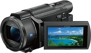 Sony 64GB FDR-AXP55 4K Handycam with Built-In Projector With Official Warranty