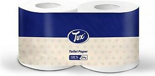 Tux Tissue Bigger Toilet Twin Roll 2ply Pack of 1