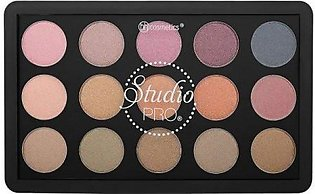 BH Cosmetics Studio Pro Dual Effect Wet/Dry Eyeshadow Palette