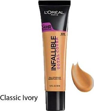 L'OREAL Infallible Total Cover Classic Ivory