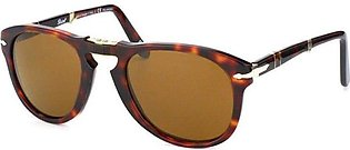 Persol PO 714 24/57 Folding Havana Sunglasses