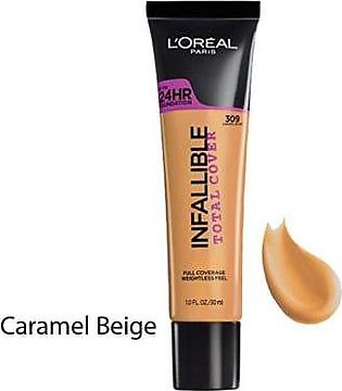 L'OREAL Infallible Total Cover Caramel Beige
