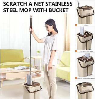 Floor Cleaner Magic Mop Spin Self Cleaning Lazy Mop