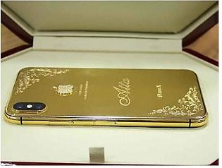 Apple iPhone XS Max 64GB 24kt Gold Plated (With Authentication Certificate)