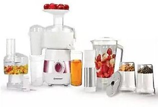 WestPoint WF-4806 - Deluxe Food Processor - White - Unbreakable Polycarbonate M…