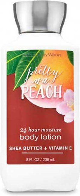 Bath & Body Works Signature Collection Pretty as a Peach Super Smooth Body Loti…