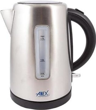 Anex AG-4047 Deluxe Steel Kettle 1.7 Ltr With Official Warranty