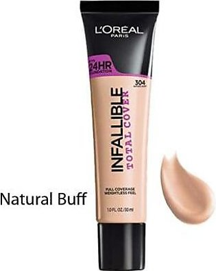 L'OREAL Infallible Total Cover Natural Buff