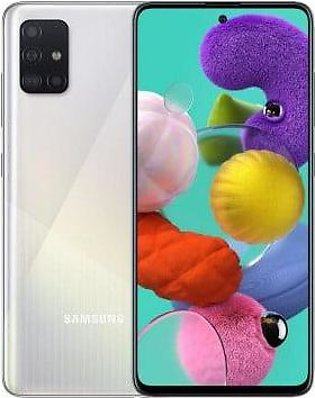 Samsung Galaxy A51 (6GB, 128GB) Dual Sim With Official Warranty