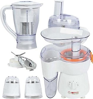 National Gold 2135 FOOD PROCESSOR 9IN1 SILVER NATIONAL GOLD