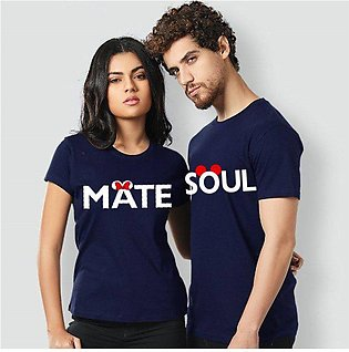 Mate And Soul Pack of 2 Printed T Shirt Summer Collection