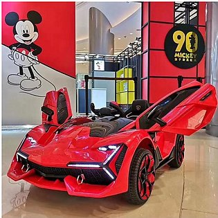 Jiangmen Electric Powered license Lamborghini Shaped Ride On Car With Remote Co…