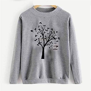Tree Printed Sweatshirt By RH