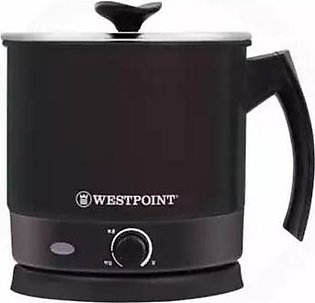 Westpoint WF-6275 Deluxe Electric Tea Kettle Silver & Black With Official Warra…